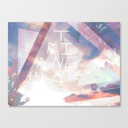 Triangulate Canvas Print