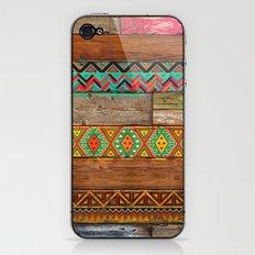 Indian Wood iPhone & iPod Skin