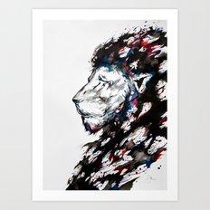 Repose Art Print