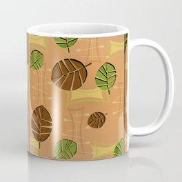 Tiki Bar Wallpaper Pattern Coffee Mug