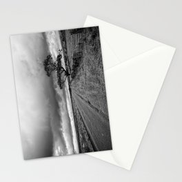 The road ahead - mono Stationery Cards