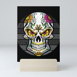 mexican skull Mini Art Print