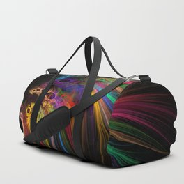 Rainbow rhinoceros Duffle Bag