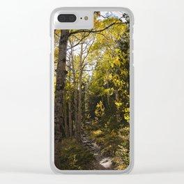 Colorado Fall Clear iPhone Case
