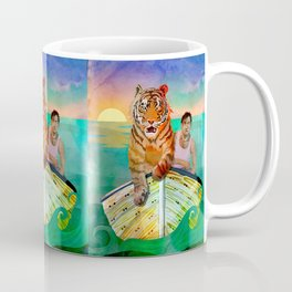 Richard Parker and Pi Coffee Mug