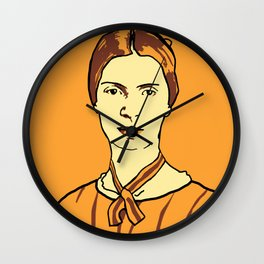 Emily Dickinson Wall Clock