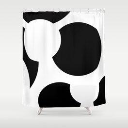 Whitespace Shower Curtain
