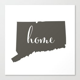 Connecticut is Home Canvas Print