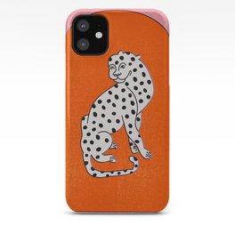 Tibetian leopard no 02.  iPhone Case