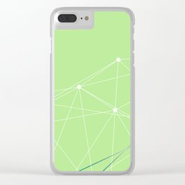 LIGHT LINES ENSEMBLE V Clear iPhone Case