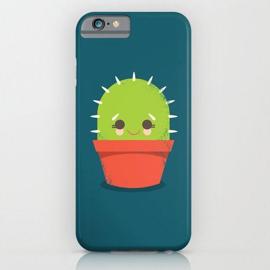 Kawaii Cactus Dude iPhone & iPod Case