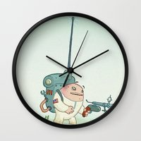alien Wall Clocks featuring Alien by StarFil