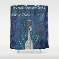once upon a  time Shower Curtains featuring Once upon a time by E.Seefried Art