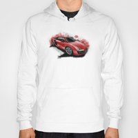 audi Hoodies featuring R8 V10 by an.artwrok