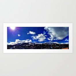 Breckenridge, CO Art Print