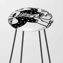 Skate Foodie Counter Stool