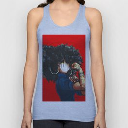 Naturally the Riverter RED Unisex Tank Top