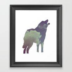 The Wolf (Jannika Edition) Framed Art Print