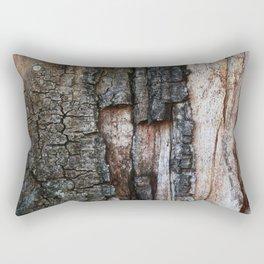 Tree Bark close up Rectangular Pillow