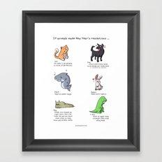 Resolutions Framed Art Print