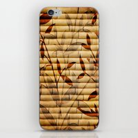 bamboo iPhone & iPod Skins featuring Bamboo by Robin Curtiss