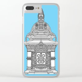 The Temple of Sarpachandra Clear iPhone Case