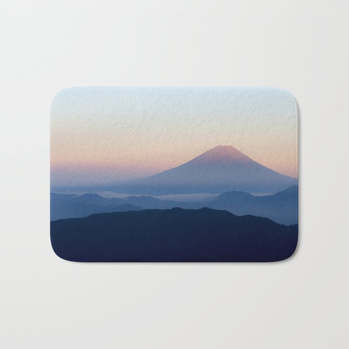 Mount Fuji, Japan Bath Mat