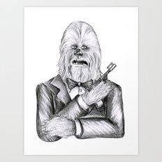 Wookie 007 Art Print