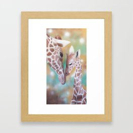 Love Is All Around Us Framed Art Print