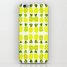 Modern Pineapples Painting iPhone Skin