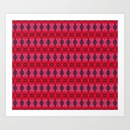 Glittiefether Art Print