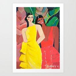 Rosie Assoulin Art Print