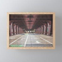 Straight Ahead - Chicago Framed Mini Art Print
