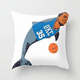 Thunderdolphin Throw Pillow