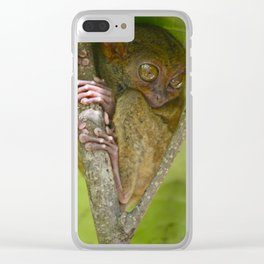 Tiny Tarsier... Clear iPhone Case
