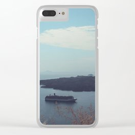 Santorini, Greece 15 Clear iPhone Case