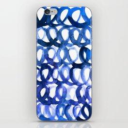 Breaking the waves iPhone Skin