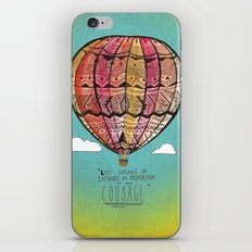 Life Expands quote iPhone & iPod Skin