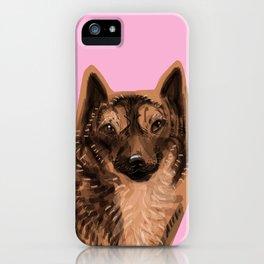 Kai Ken ( Tiger dog) iPhone Case