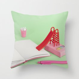 Professional procrastinator Throw Pillow