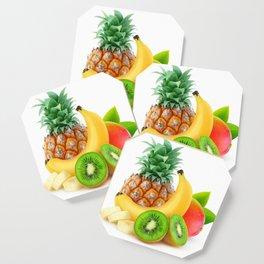 Tropical fruits Coaster