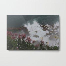 La flor Metal Print