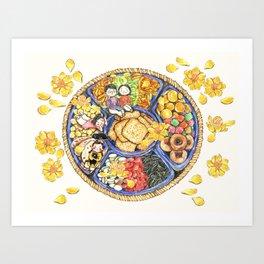 Tet sweets Art Print