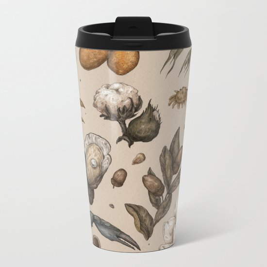 Georgia Nature Walks Metal Travel Mug