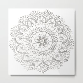 Armenian Needle Lace II Metal Print
