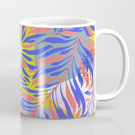 Periwinkle Leaves Coffee Mug