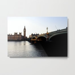 London on the Water Metal Print