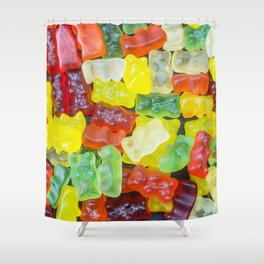 Fresh Gummy Bears Shower Curtain