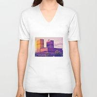 oslo V-neck T-shirts featuring Oslo by Martinho