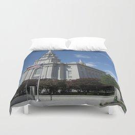 Philadelpha LDS Temple Duvet Cover